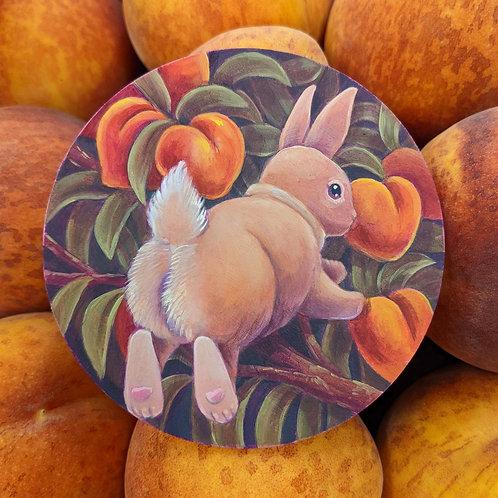 Peach Bum Bun