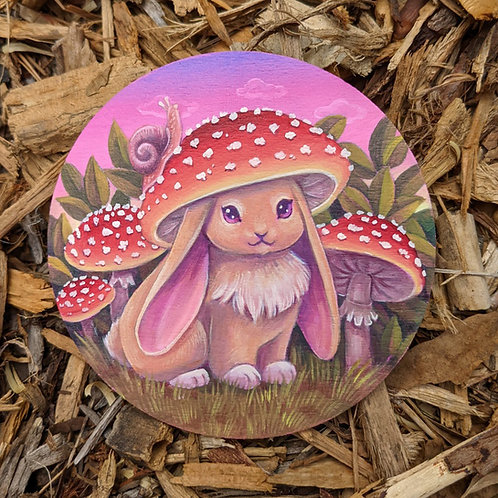 Mushroom Bun Giclee Print
