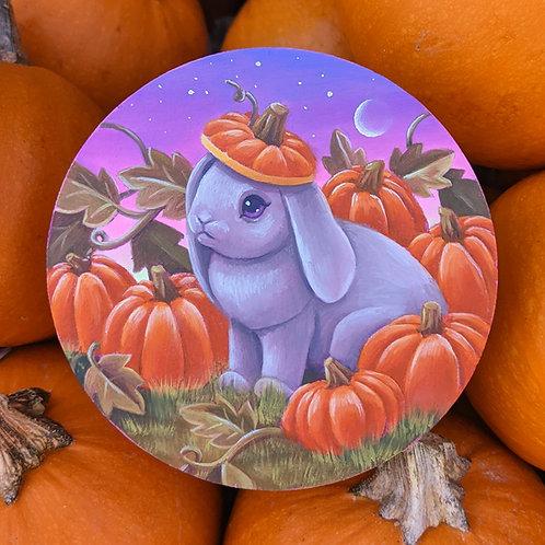 Pumpkin Bun Giclee Print