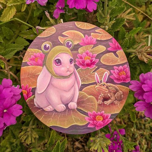 Froggy Bun Giclee Print