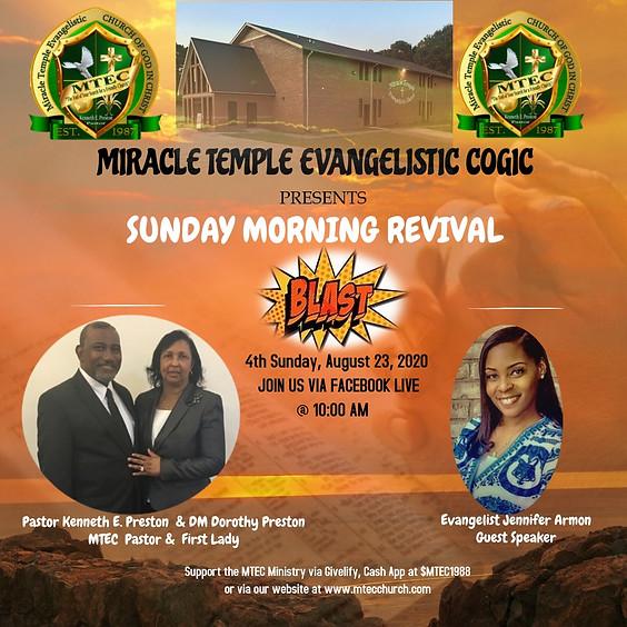 Sunday Morning Revival Blast