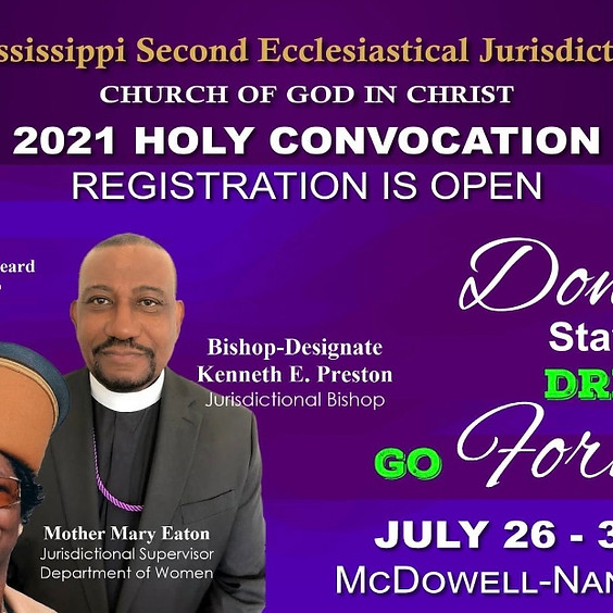 MSSCOGIC 2021 Holy Convocation