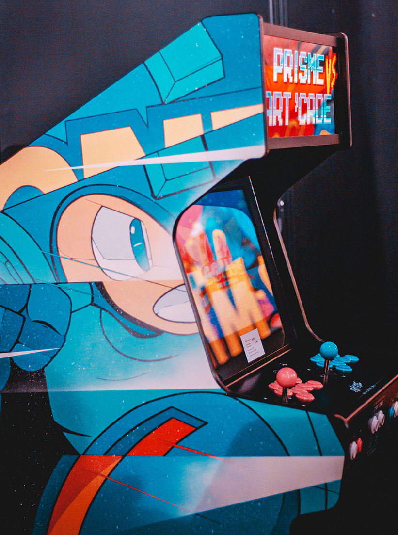 Borne d'arcade Blue bomber, Megaman Capcom