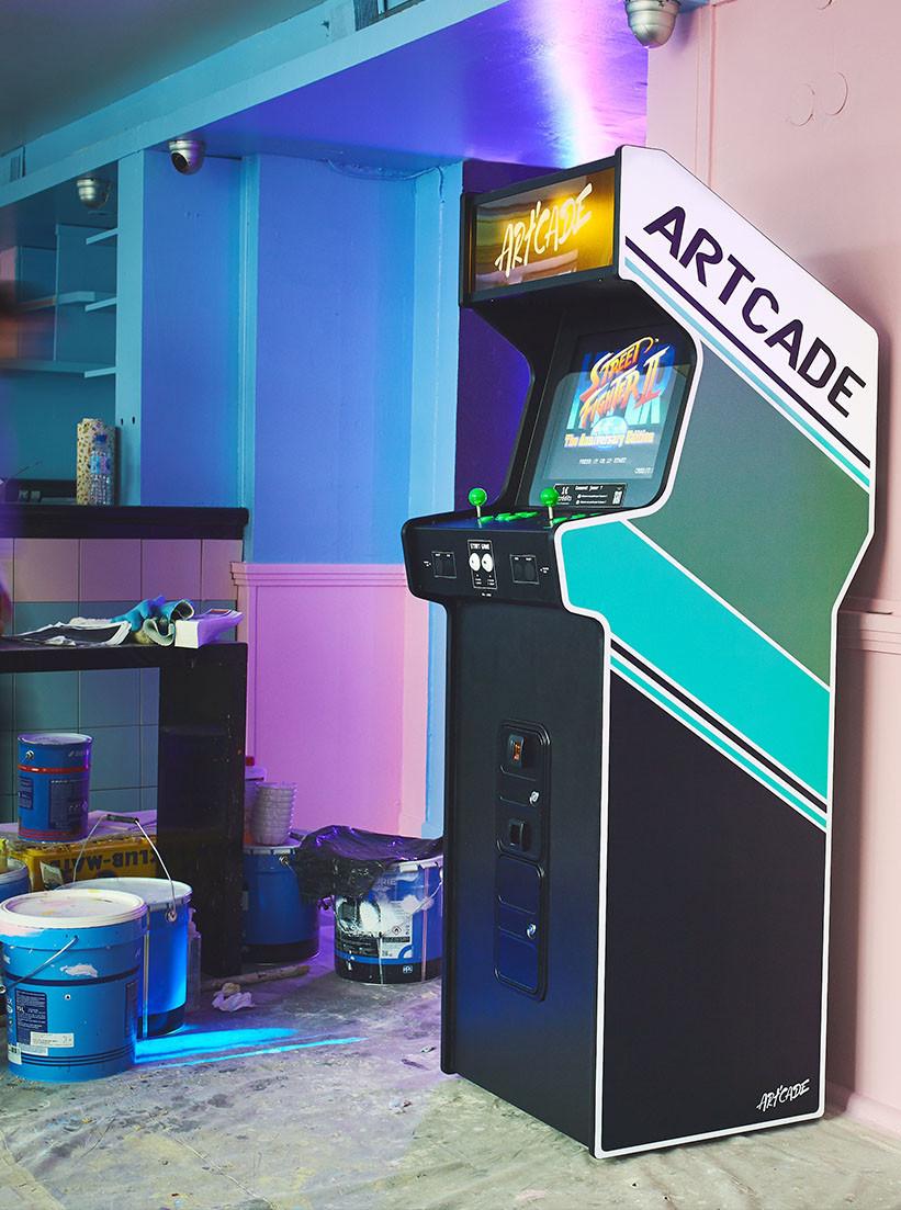 Location borne arcade au 3615 bar, Paris
