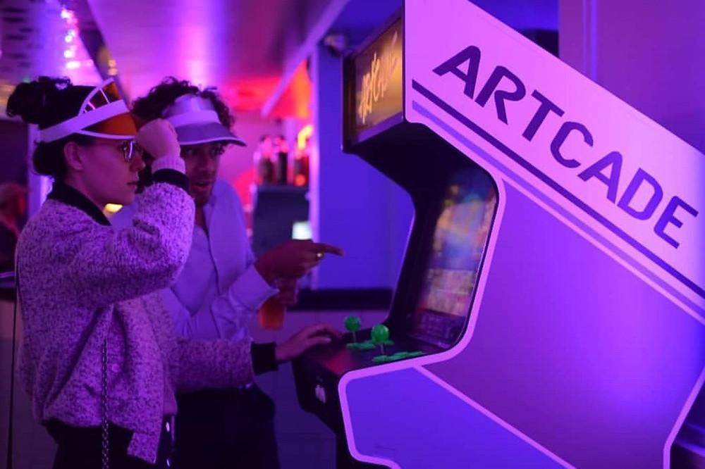 Location borne d'arcade, aménagement d'intérieur au 3615 bar, Paris