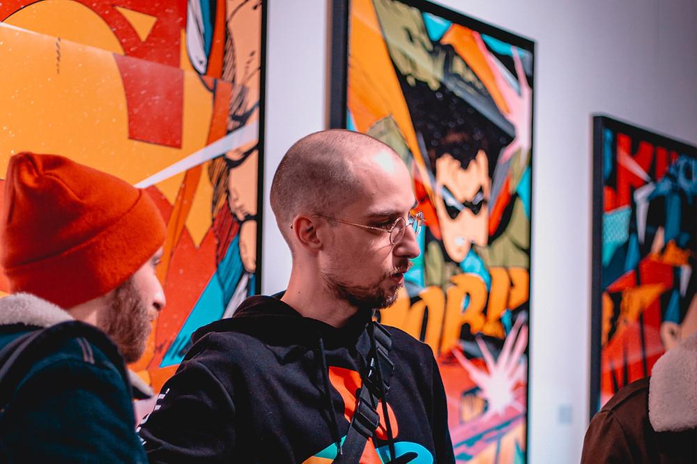 Exposition Excelsior de l'artiste Prisme