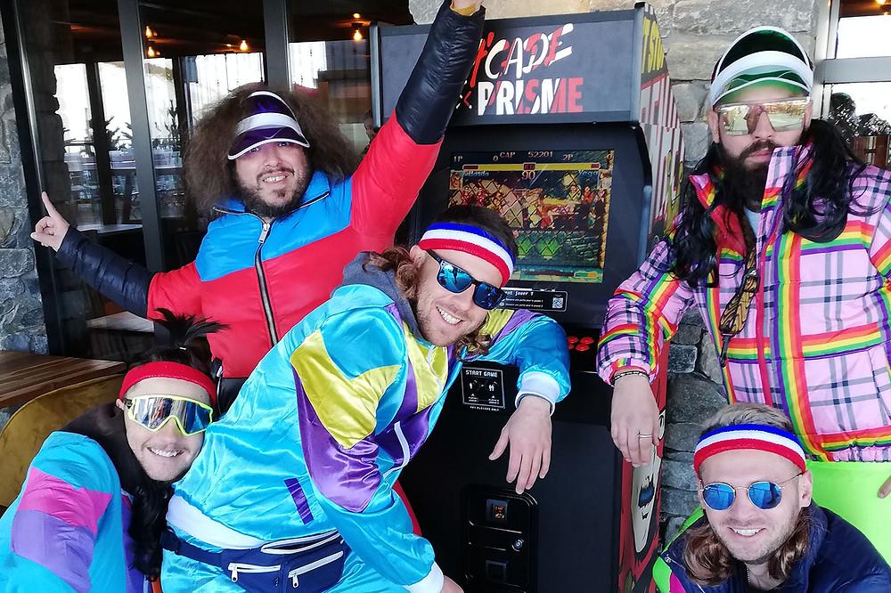 Break Free, Borne d'arcade Vintage, Art'cade, Arcade, Artcade, Folie Douce Avoriaz, retro gaming, retrogaming, Ski, After ski, apero ski