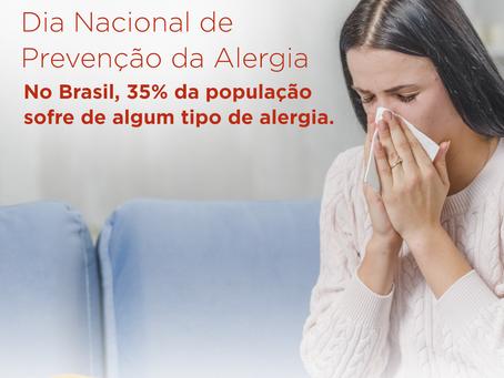 Dia Nacional de Prevenção à Alergia