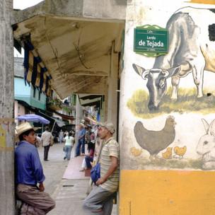 in the nearby town of San Luis de la Paz