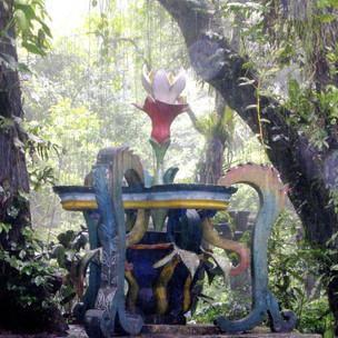the fantasy garden in Xilitla