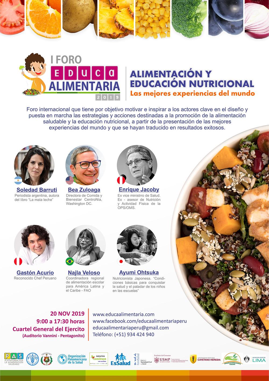 Alimentación y educación nutricional
