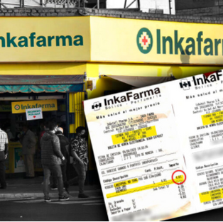 Inkafarma infla el precio de medicamentos que son entregados por delivery
