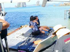 On Set in Thailand