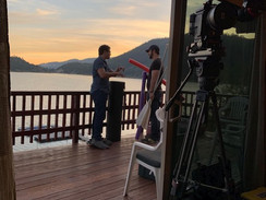 On Set in Big Bear: 'On the Lake'