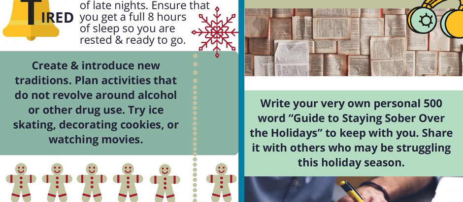 10 tips for staying sober during the holidays