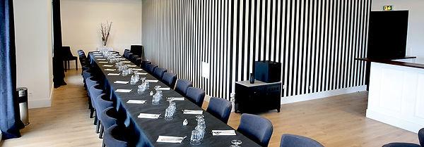 Restaurant Ouistreham Salle de séminaire avec vue sur la mer