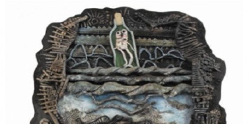 """Exposition """" Jano Pesset """" au Musée d'Art Brut à Montpellier"""