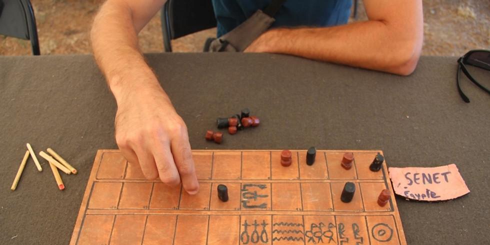 Atelier « Récré-à-jeux ! » au Musée de l'Ephèbe au Cap d'Agde