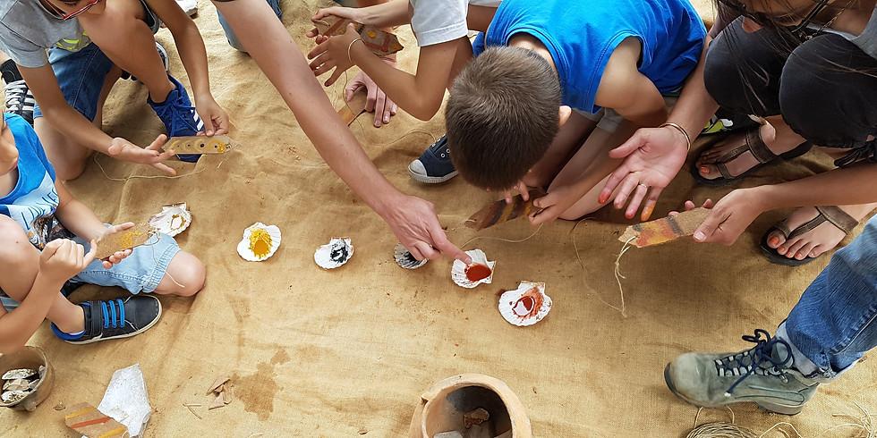 Ateliers pédagogiques au Site Préhistorique de Cambous