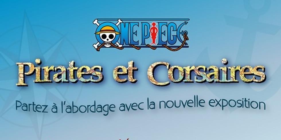 """Exposition """" A l'abordage ! One Piece, pirates & corsaires """" au Musée de l'Ephèbe au Cap d'Agde"""