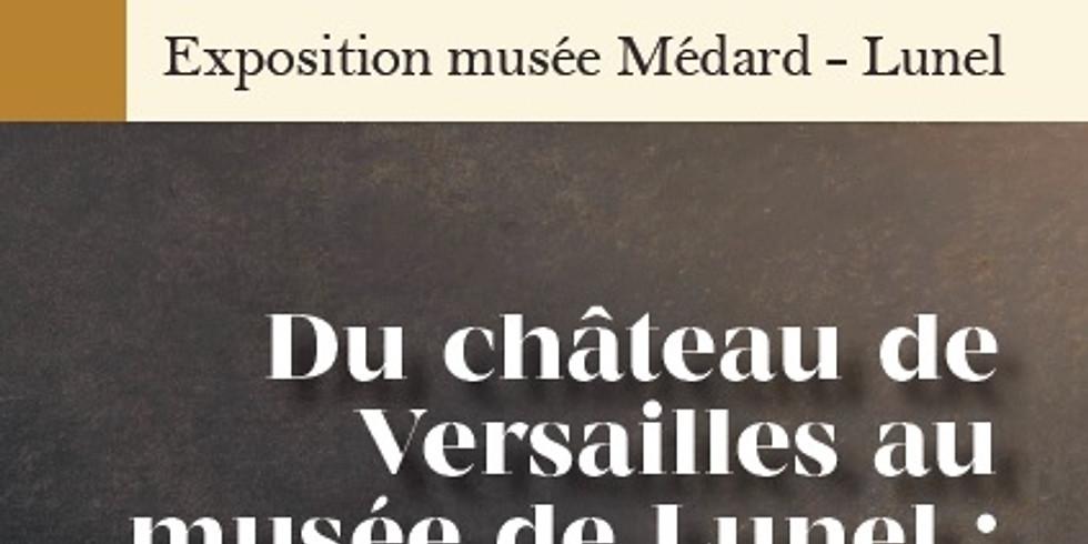 """Exposition """" Du château de Versailles au Musée de Lunel : Marat s'invite chez Médard ! """" au Musée Médard à Lunel"""
