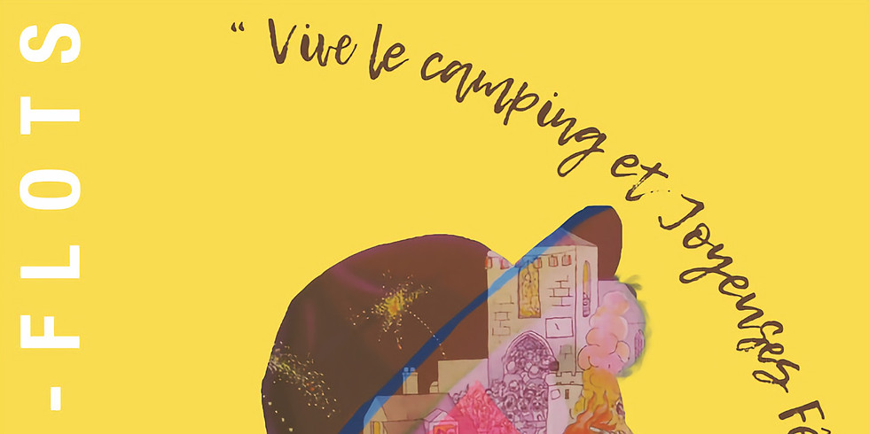 Exposition « Vive le Camping et Joyeuses Fêtes » au Musée Albert Dubout à Palavas les Flots