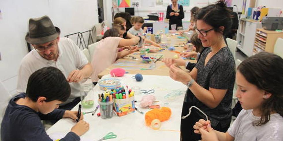 Atelier en famille au Musée Régional d'Art Contemporain à Sérignan