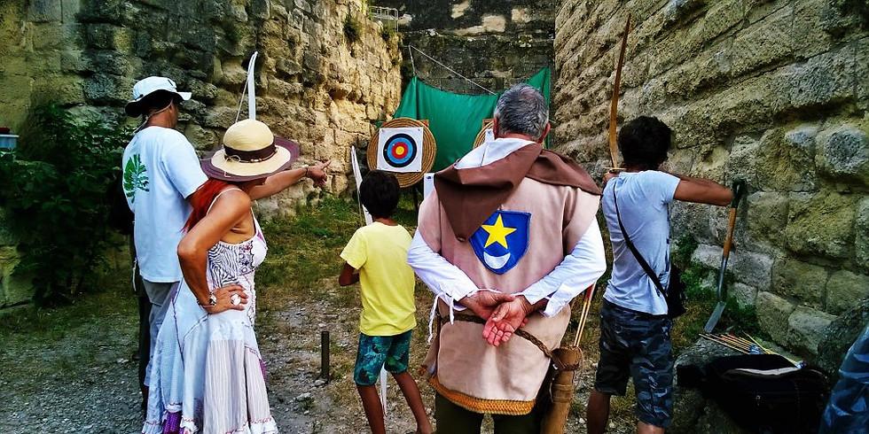 Initiation au tir à l'arc au Château de Sommières