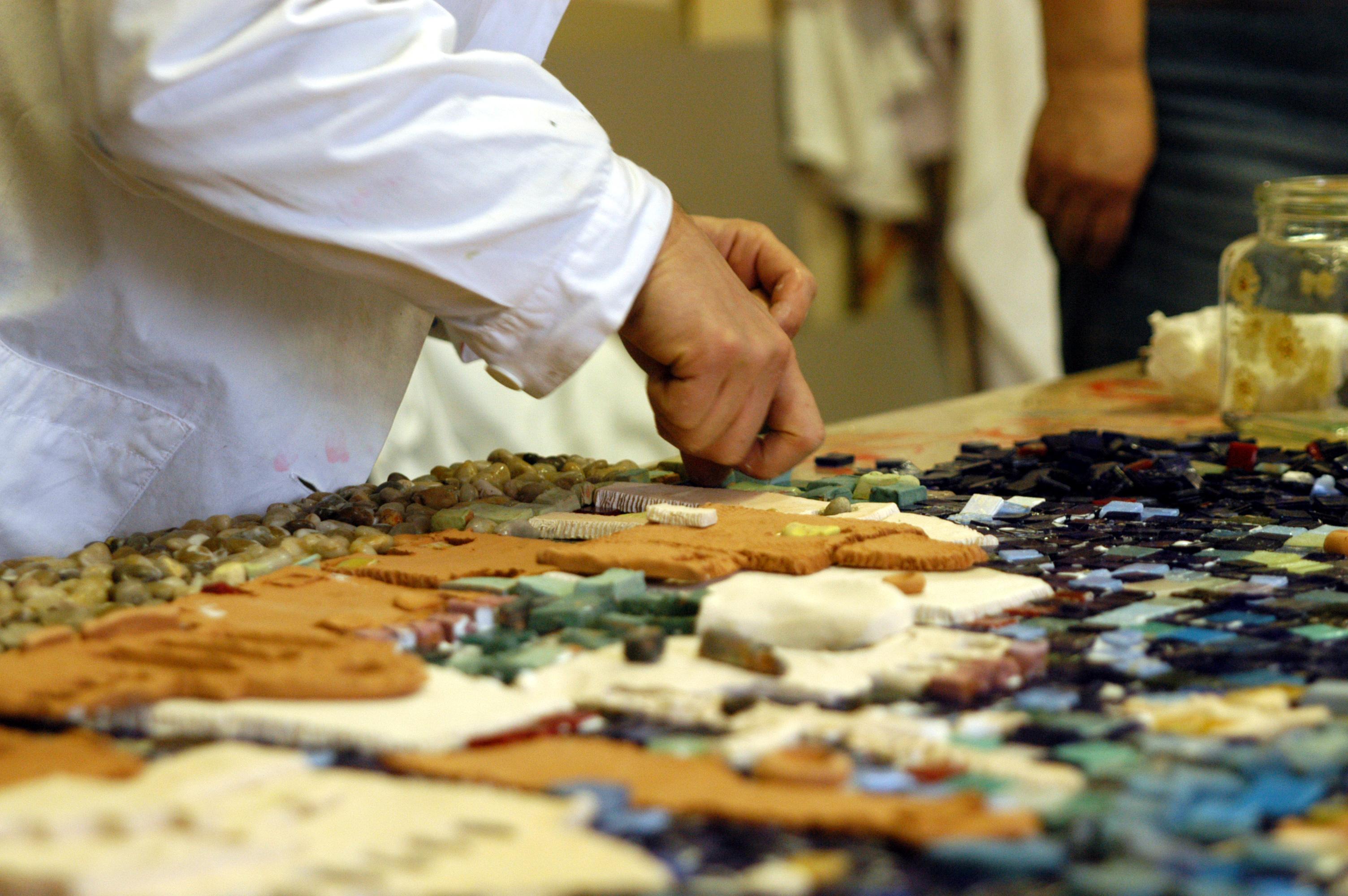 tecnica mosaico