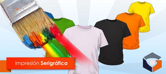 serigrafía en camisetas