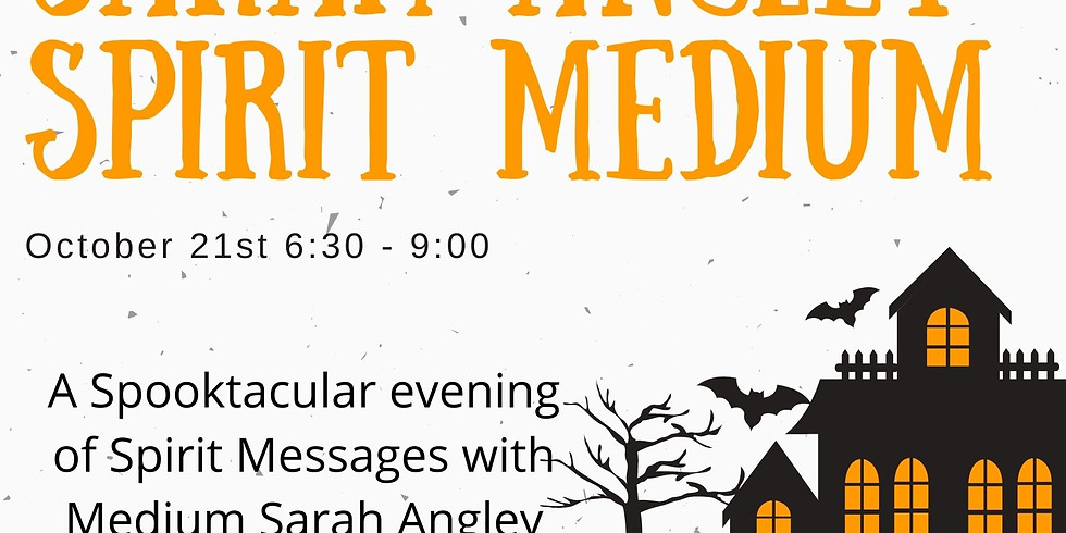 A Spooktacular evening of Spirit Messages with Spirit Medium - Sarah Angley at Mayflower Brewing Company