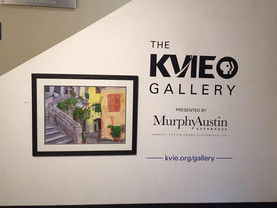 My painting has been selected for the new KVIE exhibit!