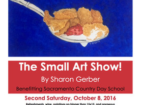 """The Small Art Show"" is Oct 8th!"