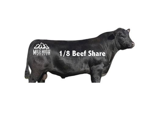 1/8 Beef Share