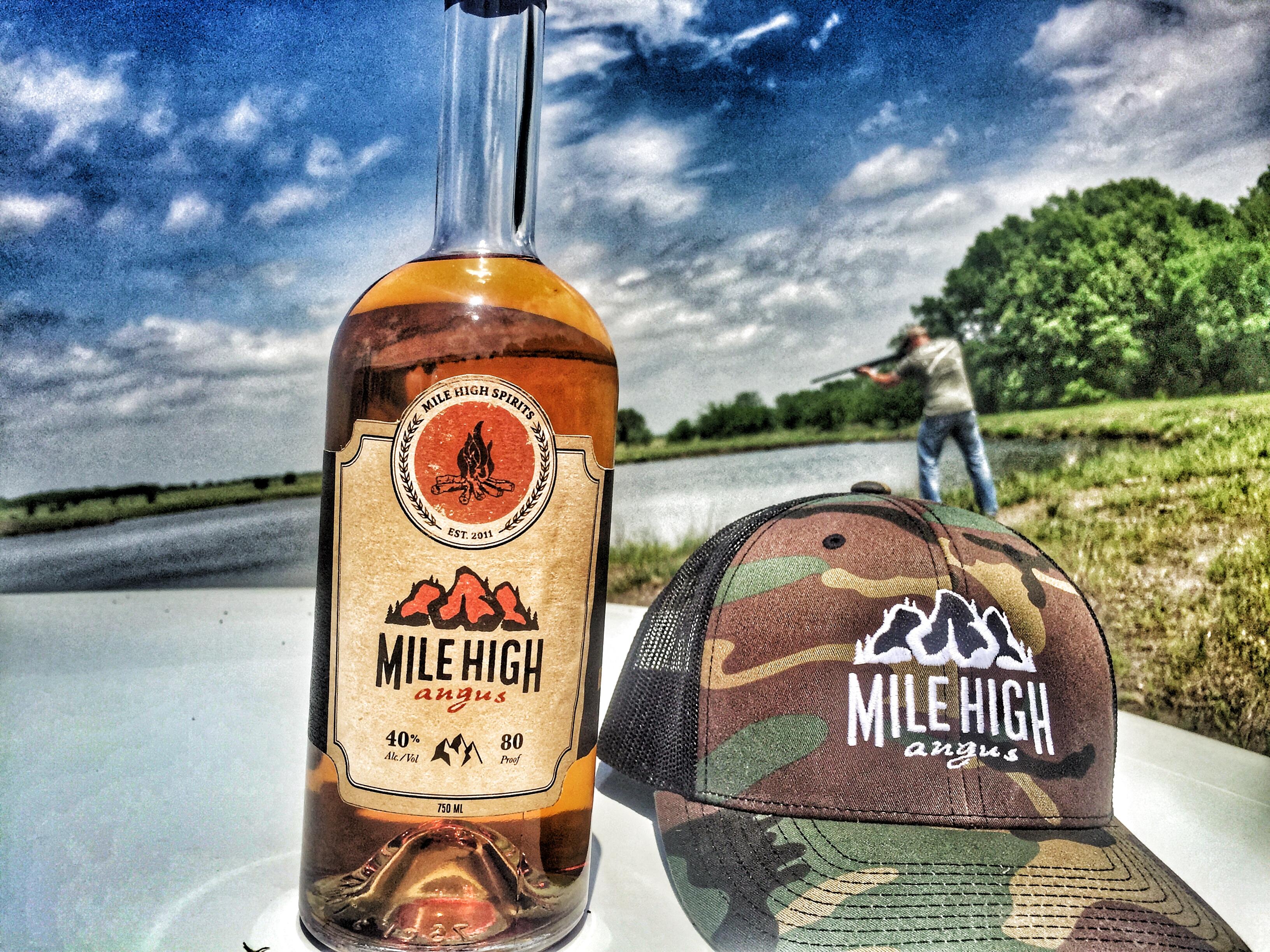 whiskey and shooting guns