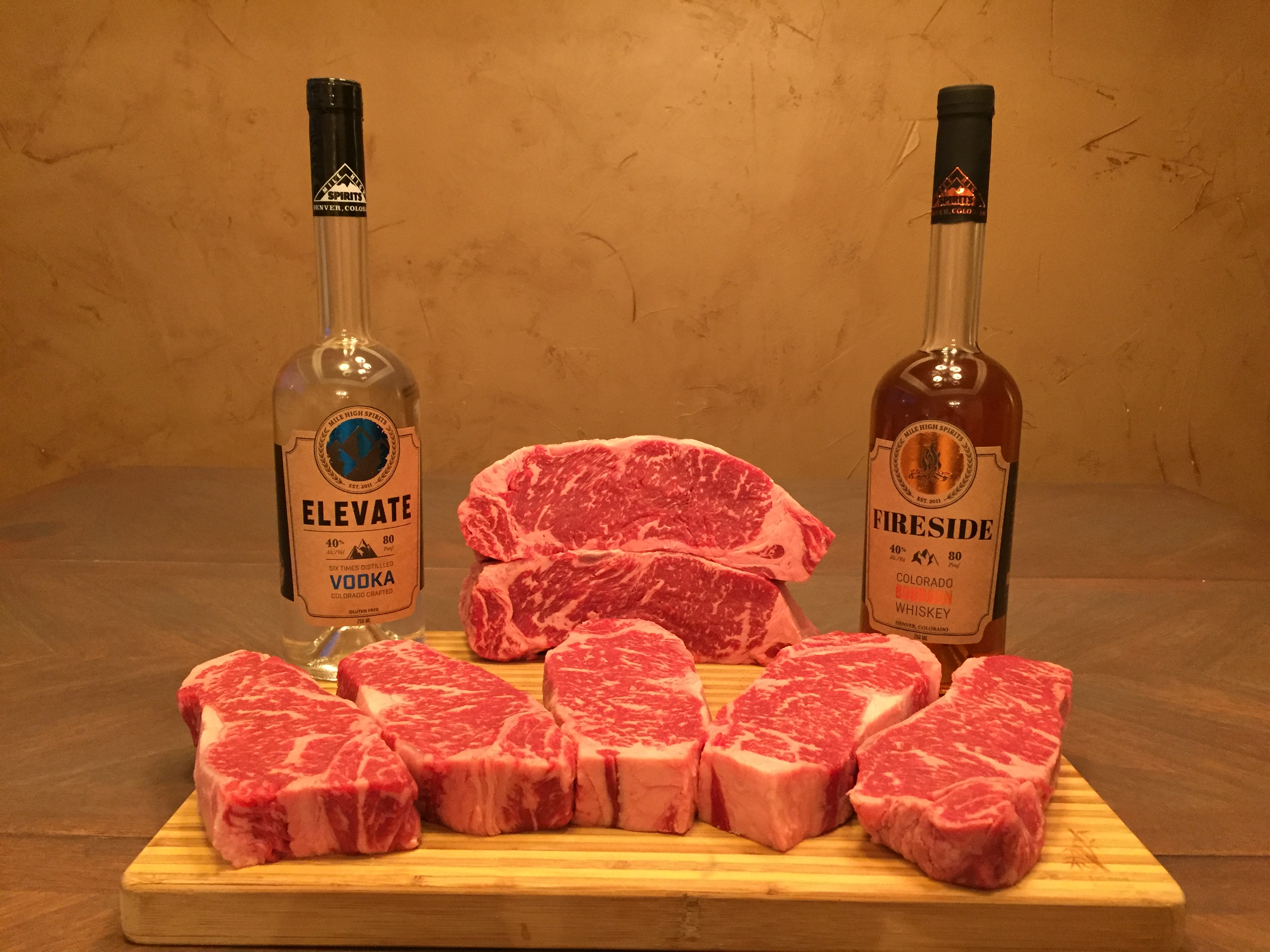 Steak & Whiskey Time