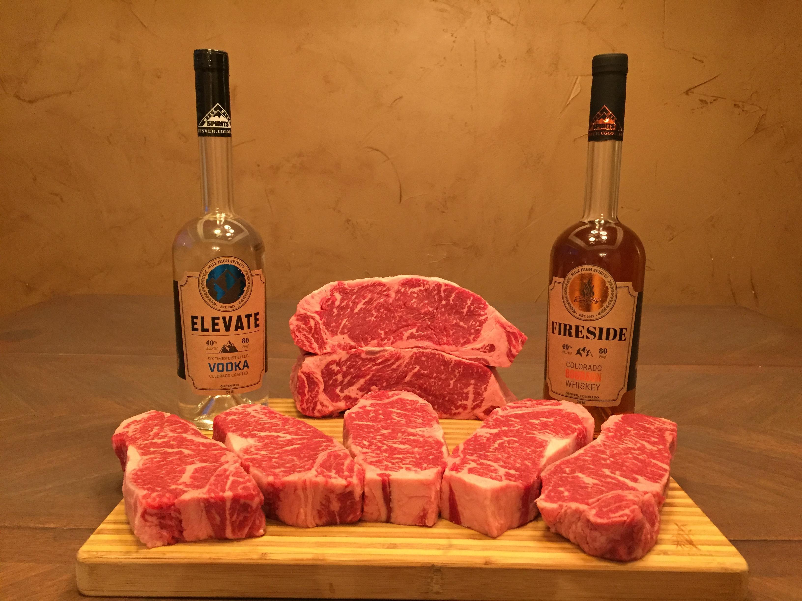 Steak & Whiskey Time