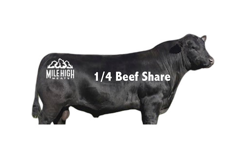 1/4 Beef Share