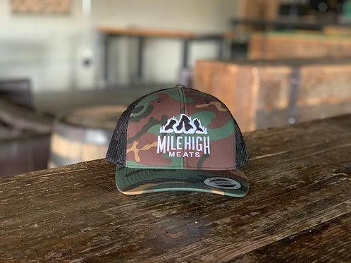 Mile High Meats Original Camo Trucker Hat