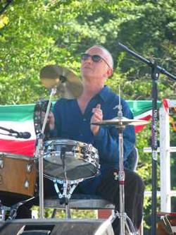 Larry Chernicoff, percussionist.