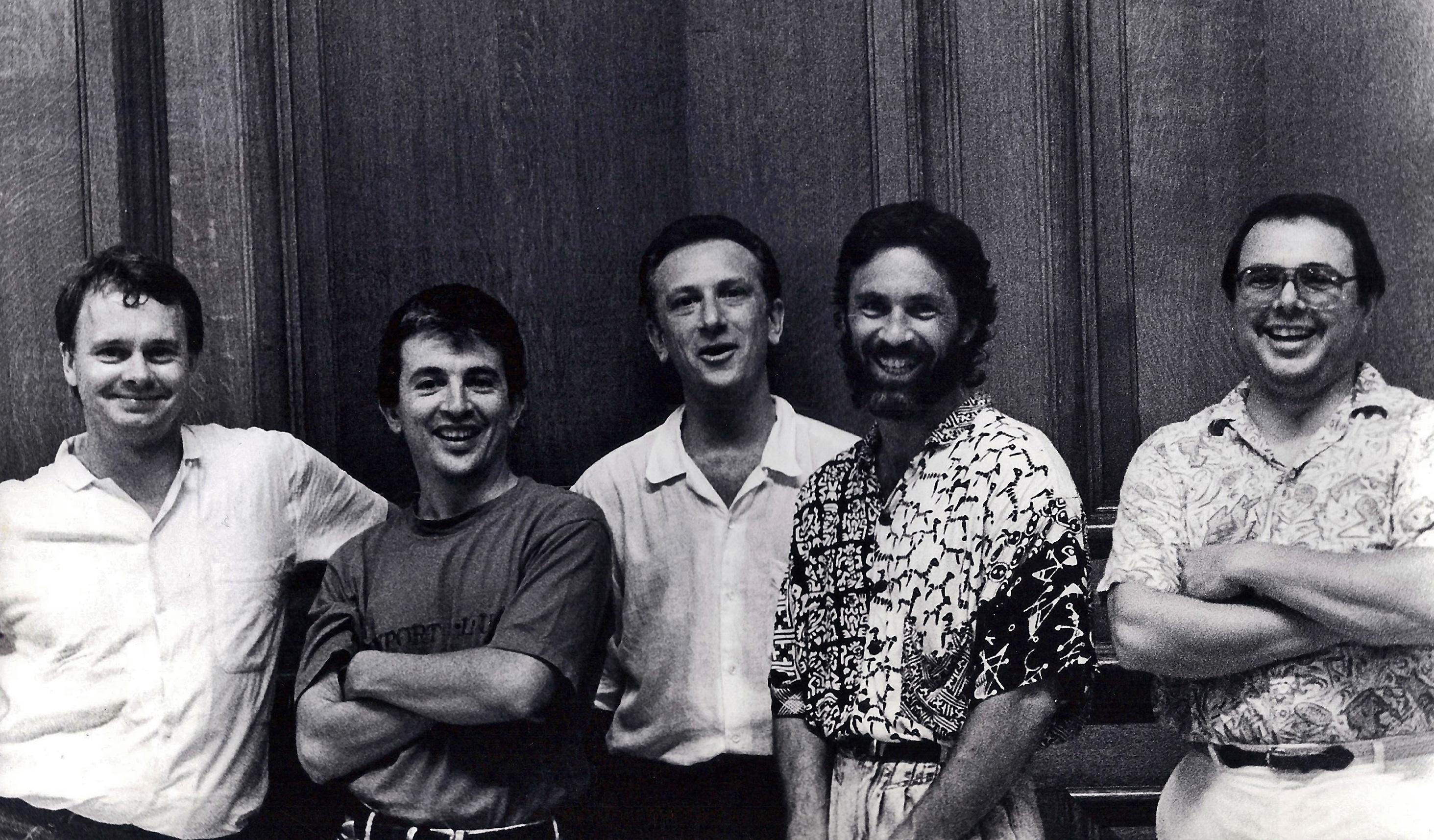 Larry Chernicoff Quintet, 1985.