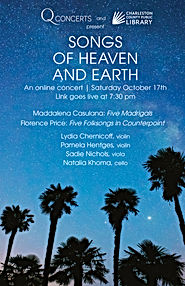 Songs of Heaven and Earth WITH DATE Fron