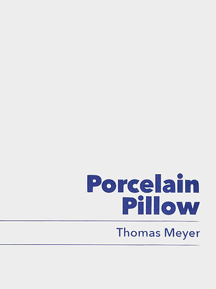 Porcelain Pillow / Thomas Meyer