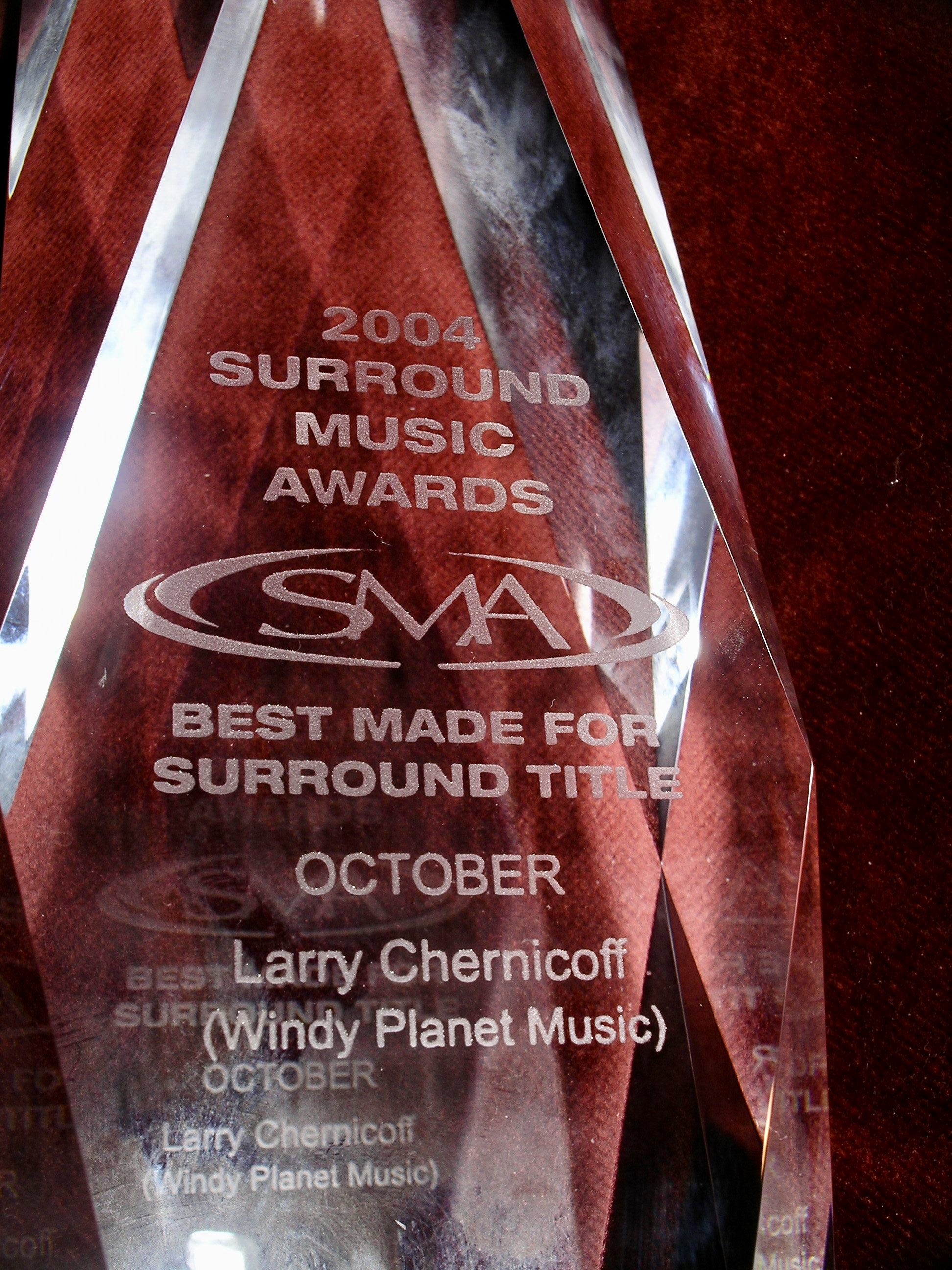 Surround Sound Award