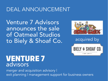 Oatmeal Studios Acquired By Biely & Shoaf Co.