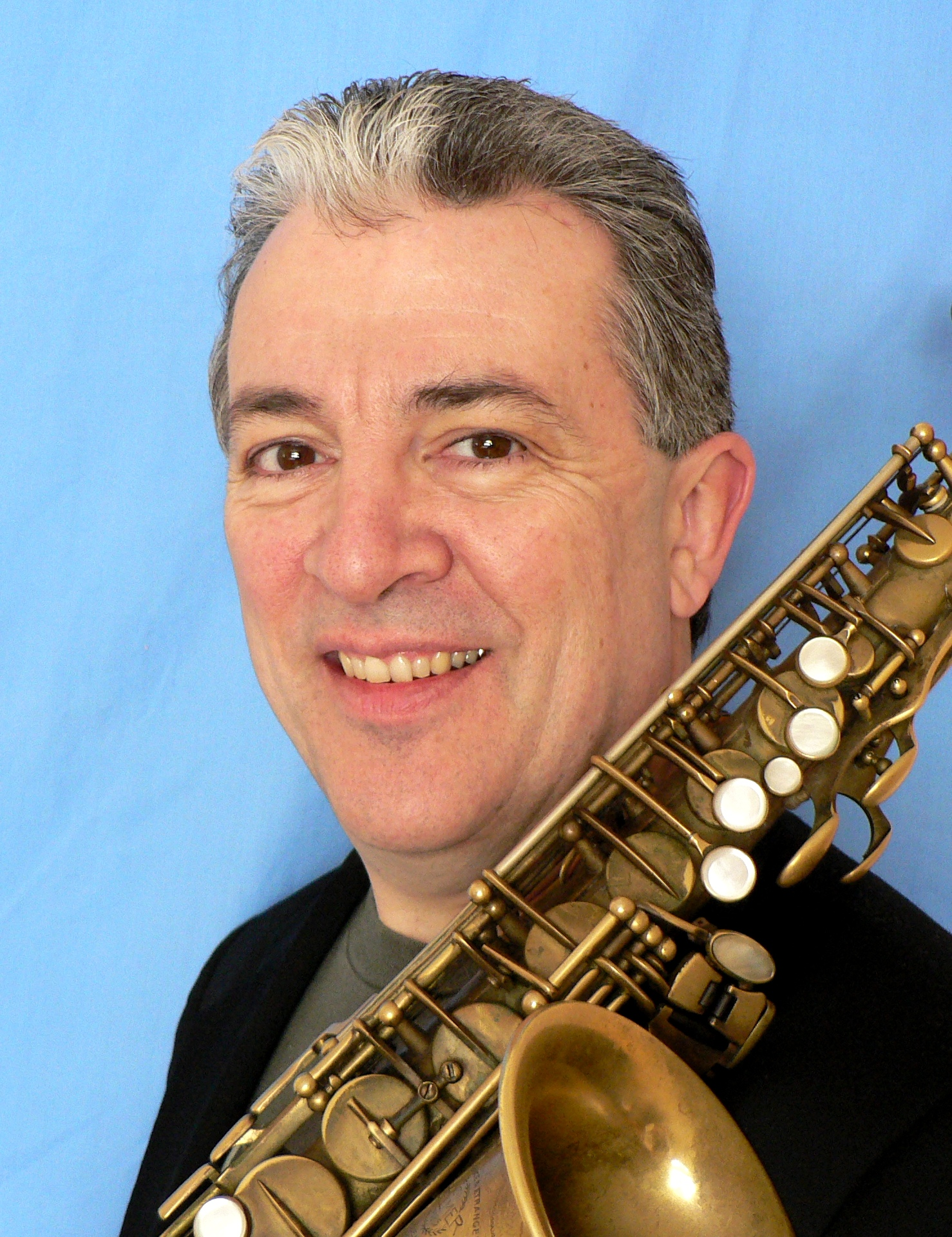 Tim Moran, woodwinds.