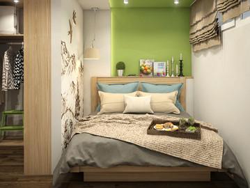 Спальня. В гармонии с природой