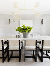 Black And White Dining Rooms