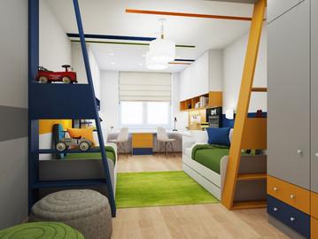 Детские комнаты. С заботой о гостях, с любовью к детям
