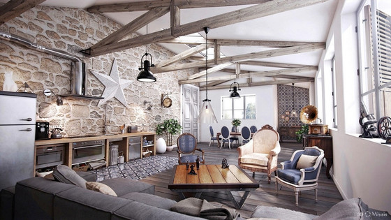 Detailed Guide & Inspiration For Designing A Rustic Living Room